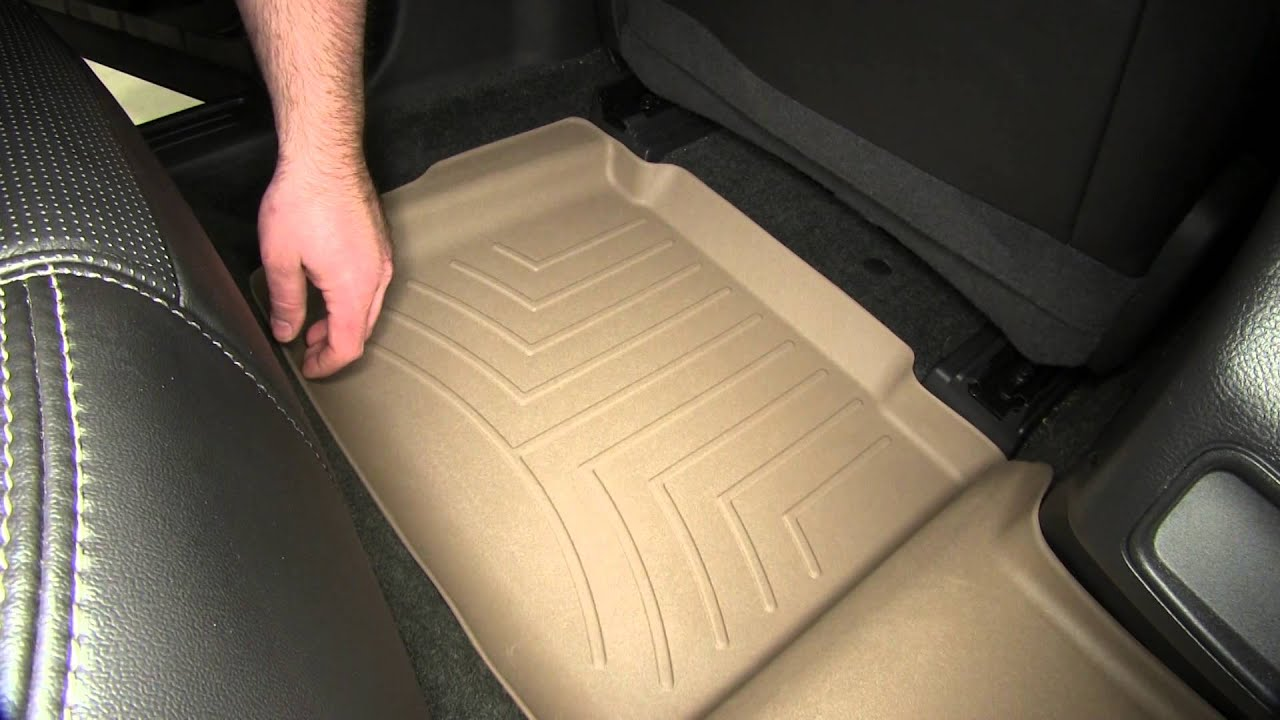 Weathertech floor mats 2013 kia sportage - Review Of The Weathertech 2nd Row Rear Floor Liner On A 2014 Ford Taurus Etrailer Com