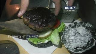 Burger Hitam Yakuza