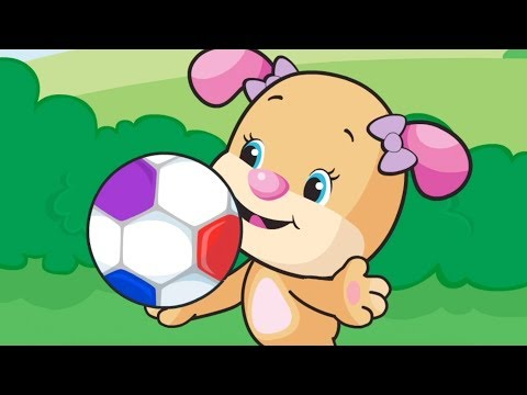 Actions With Soccer Ball - Laugh & Learn | Kids Songs And Cartoons | Laugh And Learn Songs For Kids