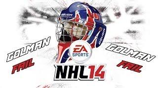 Český Let´s play | NHL 14 | Golman FAIL | 1. Díl | Xbox 360