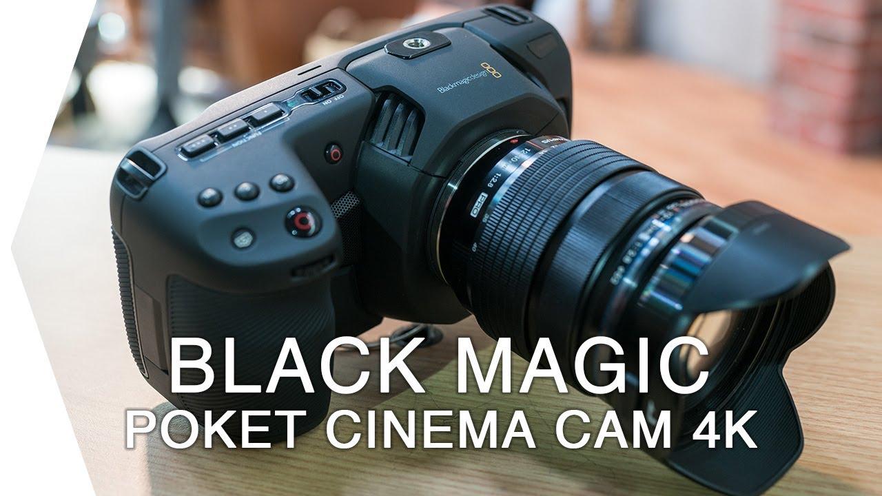 blackmagic pocket cinema camera 4k i nab 2018 hands on. Black Bedroom Furniture Sets. Home Design Ideas