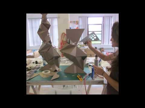 AIE RISD and Jim Drain Rabat sculpture project.wmv