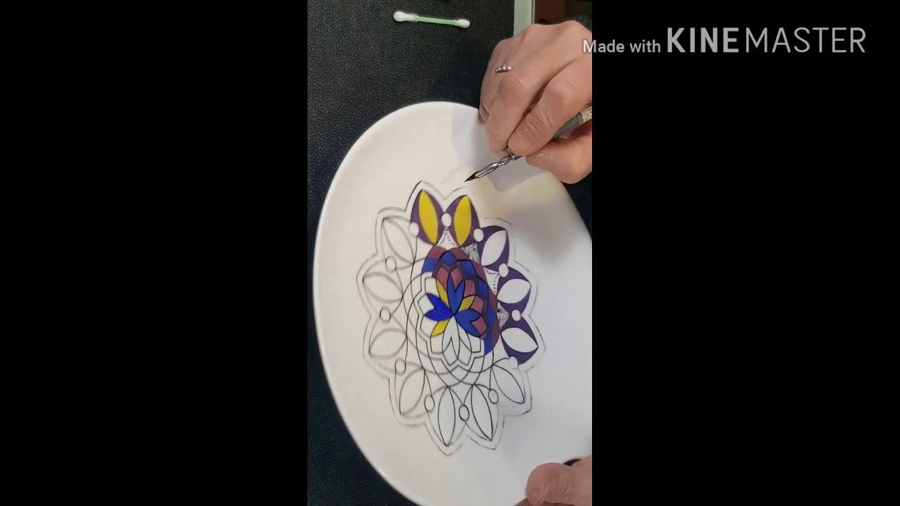 Tuto Peinture Sur Porcelaine peindre sur porcelaine par joëlle delbar