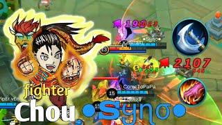 The fighter ●Sყɳσ● : Insane Damage Chou | ●Sყɳσ● fighter Build Chou Gameplay