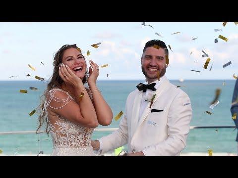 Julia & James Wedding @ Nautilus South Beach