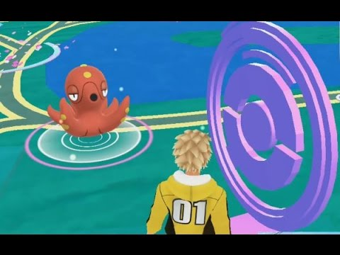 A Wild Octillery Has Appeared! Pokemon GO Generation 2 Pokedex Entry!