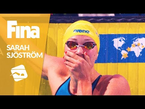 Sjöström is collecting World Records at the FINA/airweave Swimming Wolrd Cup 2017