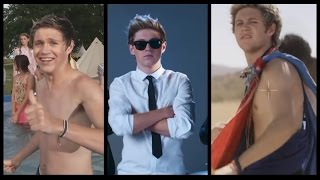 Niall being Niall in music videos