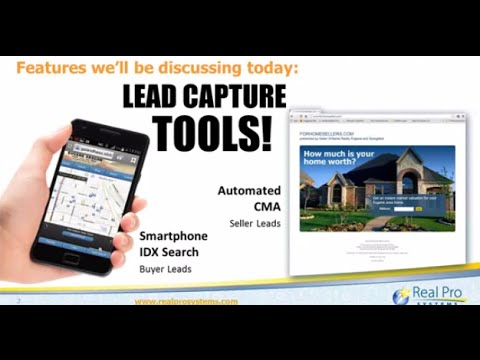 TWO Tools to Capture Leads  Automated CMA and Smartphone IDX Search!
