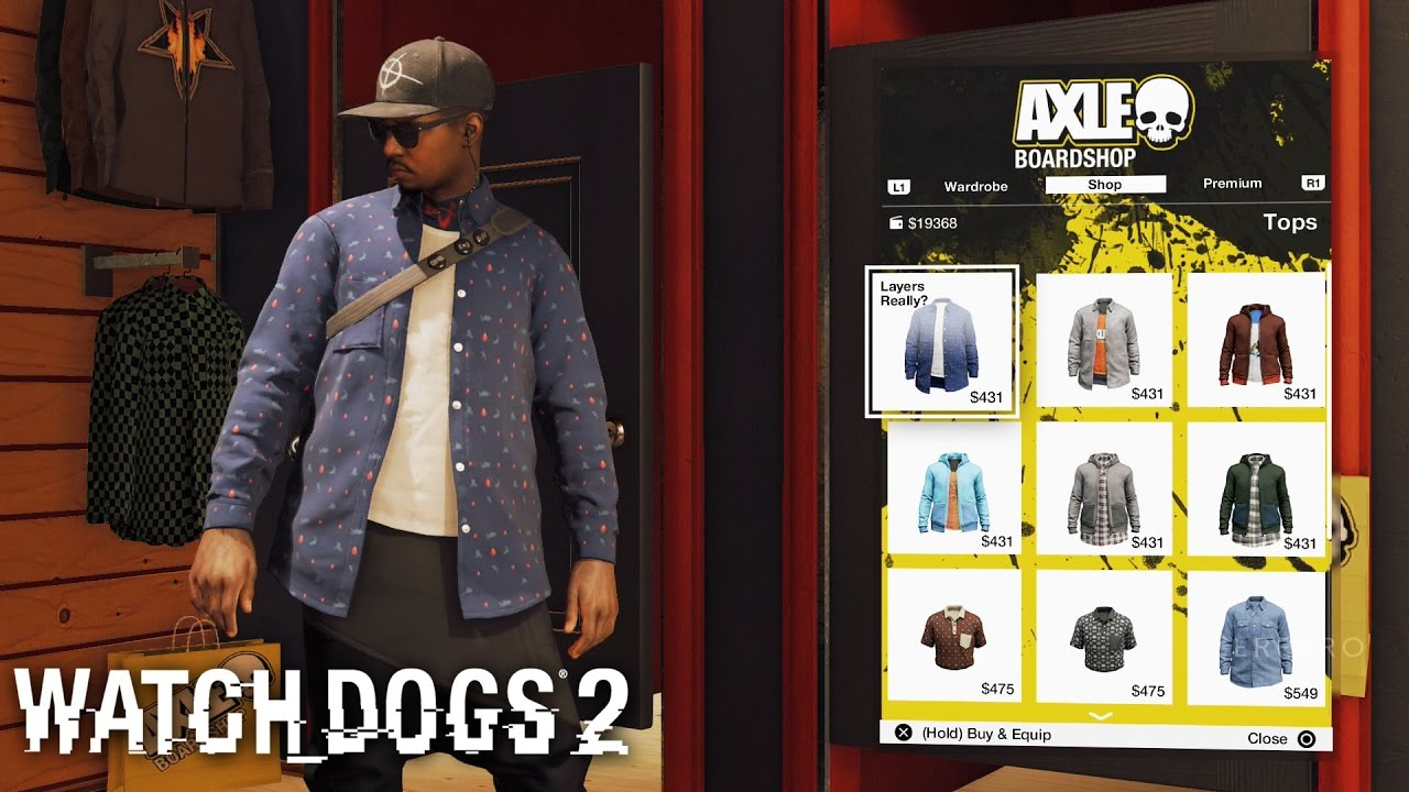 Watch Dogs 2 All Outfits Customizations Including Dlc Clothes