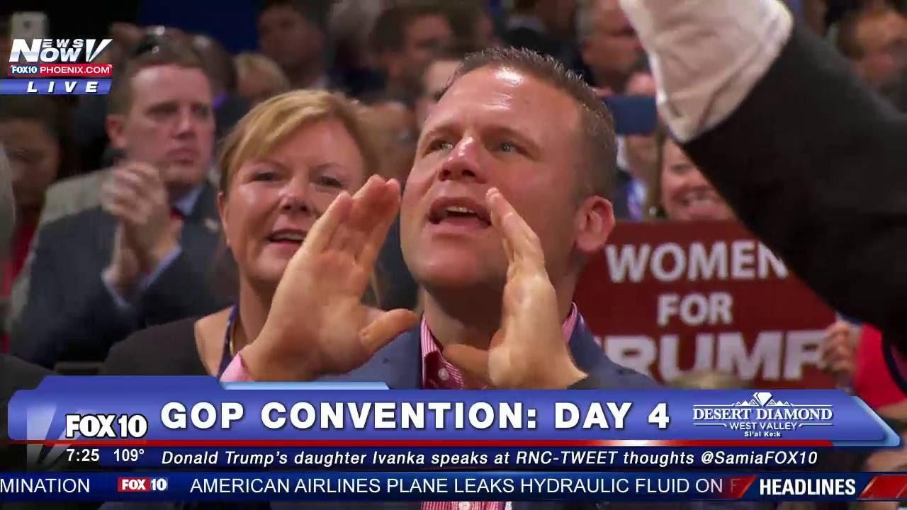Geenstijl: terugkijken. donald trump acceptance speech
