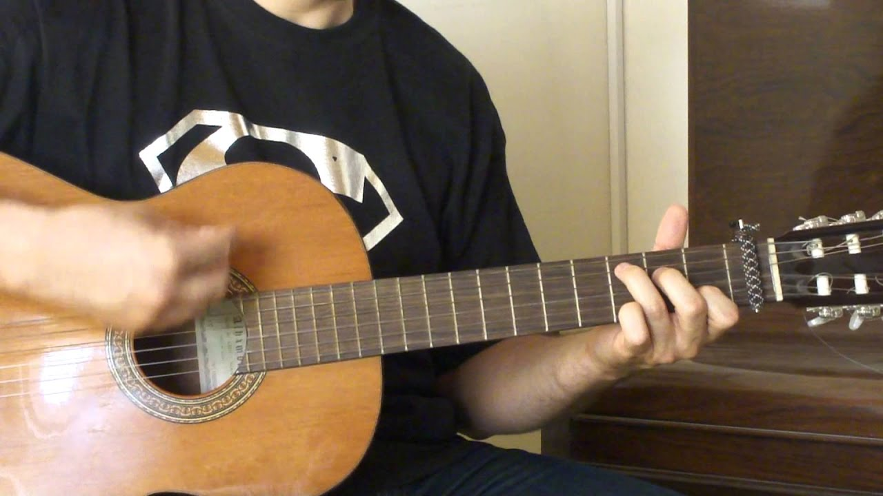 Justin Bieber Be Alright Guitar Tutorial Petros Youtube