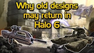 Why old weapon and vehicle designs may return in Halo 6
