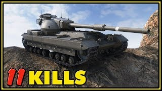 FV215b - 11 Kills - World of Tanks Gameplay