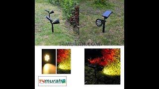 Lampu Taman Tenaga Surya 7 Warna