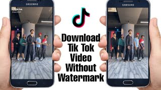 image How To Download Tik Tok Video Without Watermark | Syah Tech | Link Description 👇👇👇