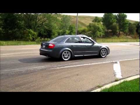 JHM Tuned B6 S4 with custom catless Magnaflow exhaust