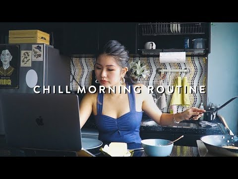 CHILL MORNING ROUTINE | Giveaway