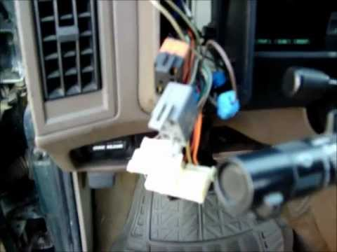 wiring diagram turn signal relay light switch outlet digital dash repair s10 blazer sonoma jimmy bravada - youtube
