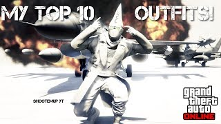 ✪(GTA ONLINE) MY TOP 10 OUTFITS!👕 | AFTER HOURS/NIGHTCLUB DLC🥂🍾 (male) ✪
