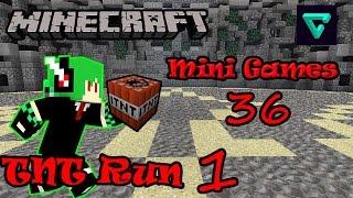 Minecraft มินิเกมส์ #36 (TNT Run) แลคดีจริ้มๆ