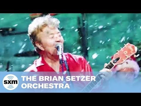 The Brian Setzer Orchestra performs Jingle Bells