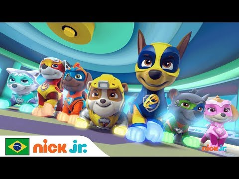 Trailer Patrulha Canina - Mighty Pups 🐾 O especial está chegando   Nick Jr.   Brazil   Português