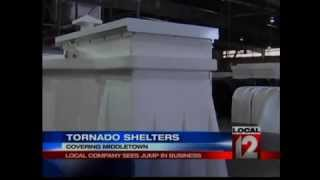 Granger Plastics Company Sees Jump In Tornado Shelter Business