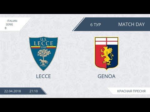 AFL18. Italy. Serie B. Day 6. Lecce - Genoa