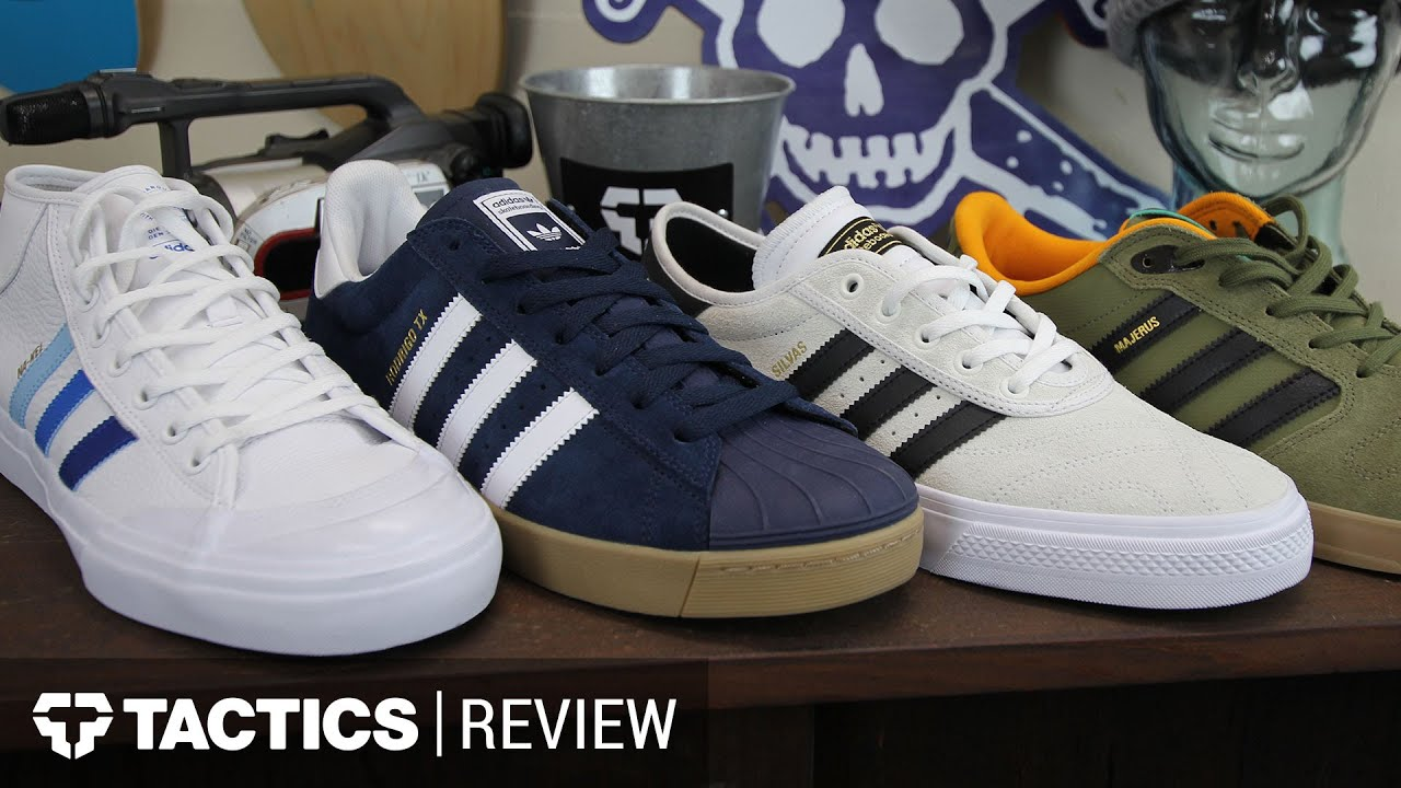 Adidas Fall 2016 Pro Colorways Skate Shoes Review Tactics