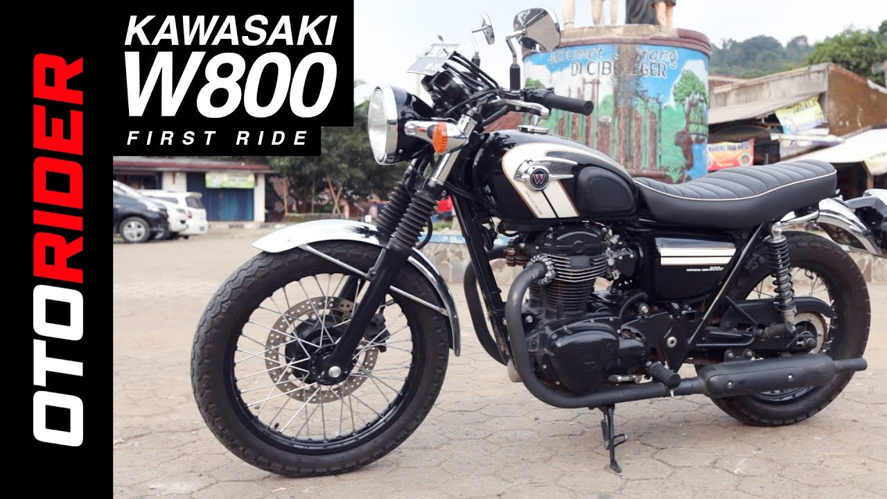 Kawasaki W800 First Ride Review Indonesia Otorider Supported