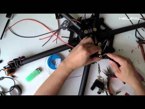How to build a hexacopter /  octocopter - HeliPal.com