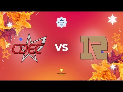CDEC Gaming vs Royal Never Give Up vod