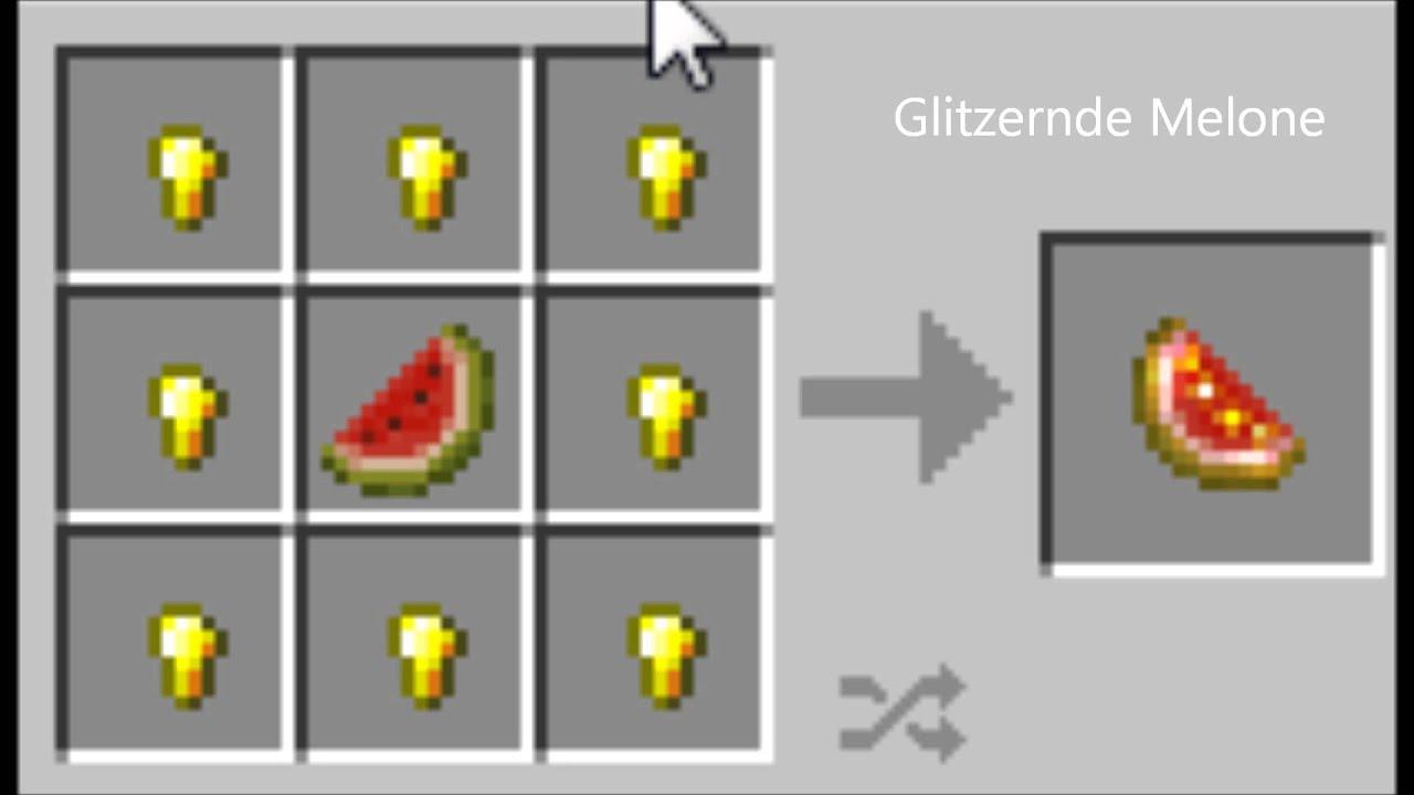 Minecraft Glitzernde Melone [Neu][1 6] - YouTube