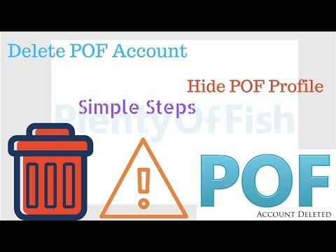 Quick Guide To Delete POF Account Instantly