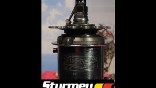 Sturmey Archer 3 speed AW gearhub. How it works.