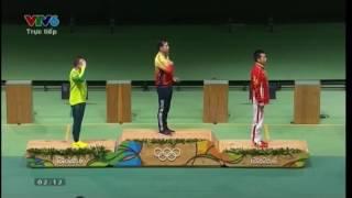 khoảnh khắc quốc ca Việt Nam vang lên trên đấu trường Olympic- Hoàng Xuân Vinh