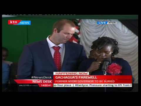 Dr. Mercy Gachagua's emotiional tribute letter to her father