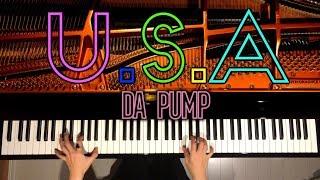【ピアノ】U.S.A/DA PUMP/ダパンプ/弾いてみた/CANACANA
