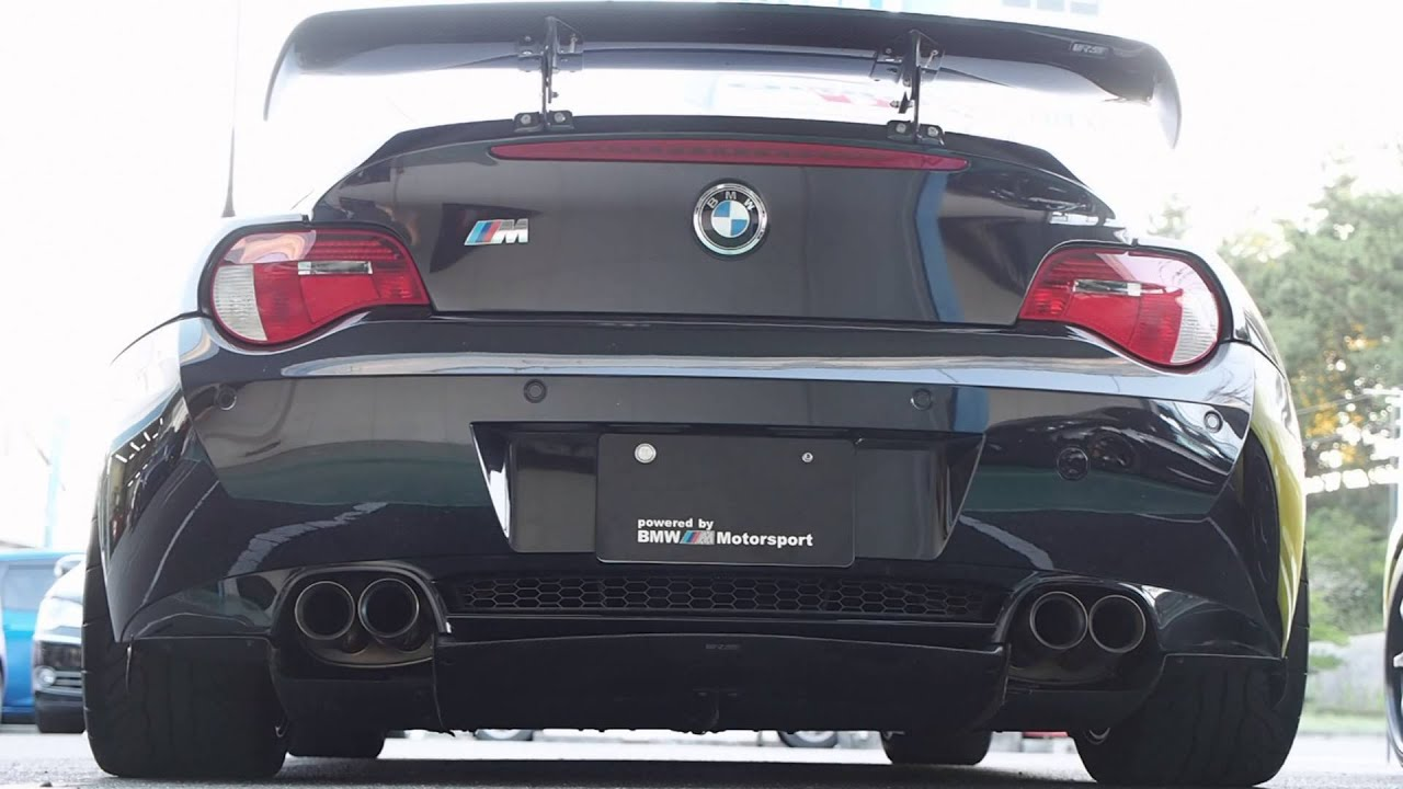 Bmw Z4m Coupe Exhaust Youtube