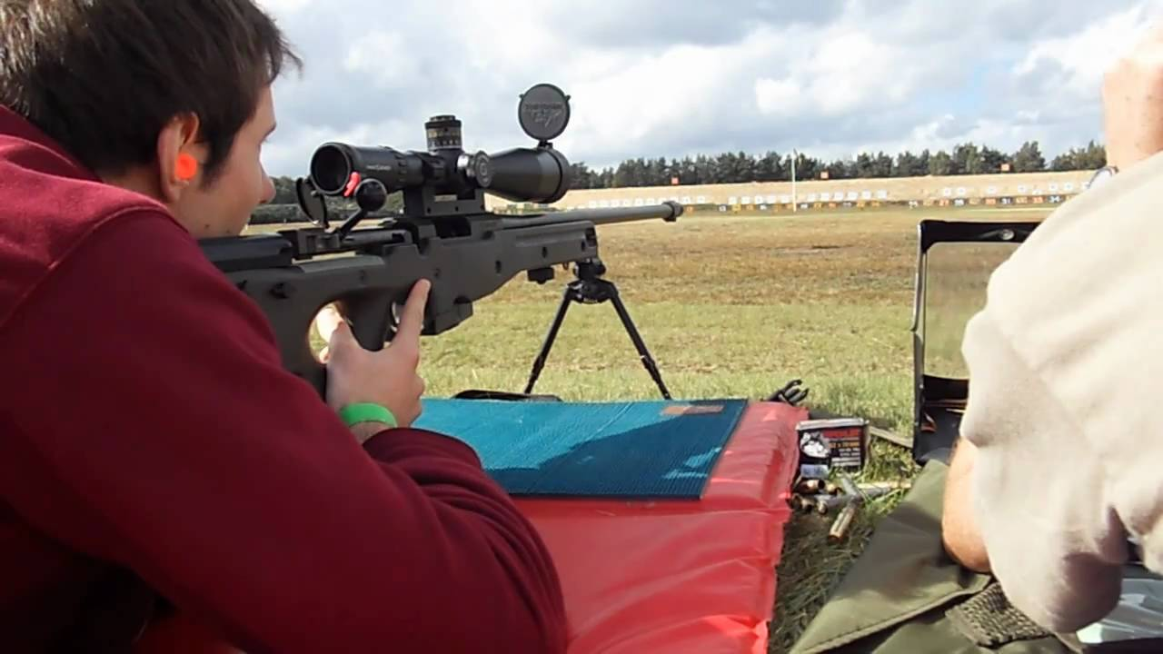 Shooting Accuracy International AW L96 - YouTube