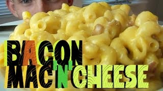 Crispy Bacon Mac'n'cheese! Pappa Iq Style