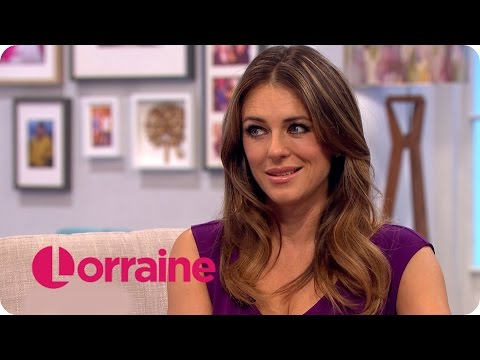 Elizabeth Hurley On The Royals, White Trousers And Her Son  Lorraine