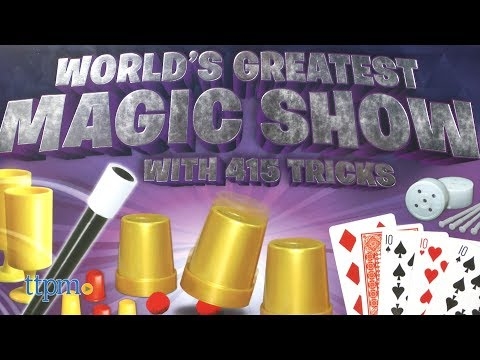 World's Greatest Magic Show with 415 Tricks from Thames & Kosmos