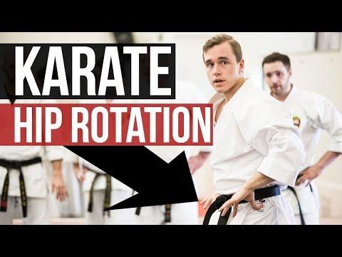 KARATE HIP ROTATION EXERCISE (FROM JAPAN) — Jesse Enkamp