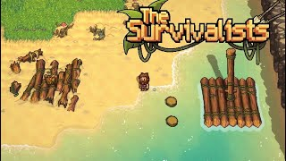 Starting Our Island Survival ~The Survivalists #1
