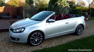Video Review of 2012 Volkswagen Golf Cabriolet For Sale SDSC Specialist Cars Cambridge UK