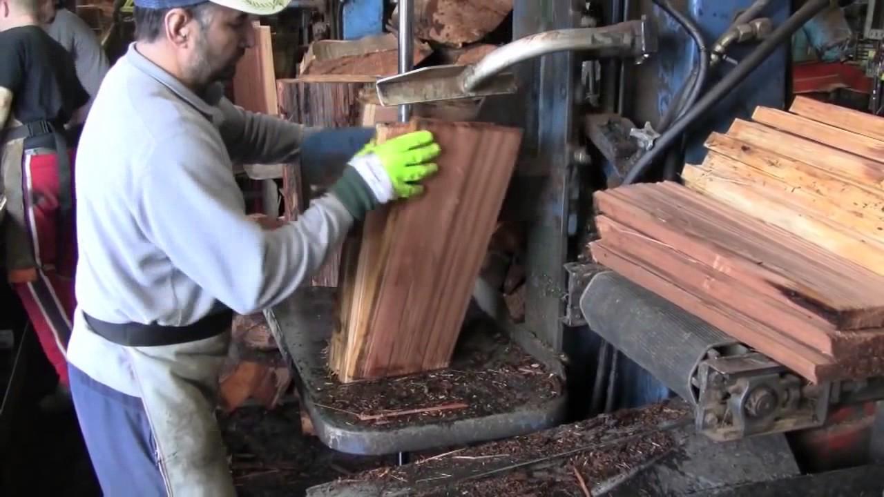 How Cedar Shingles Are Made | Tour the Mill