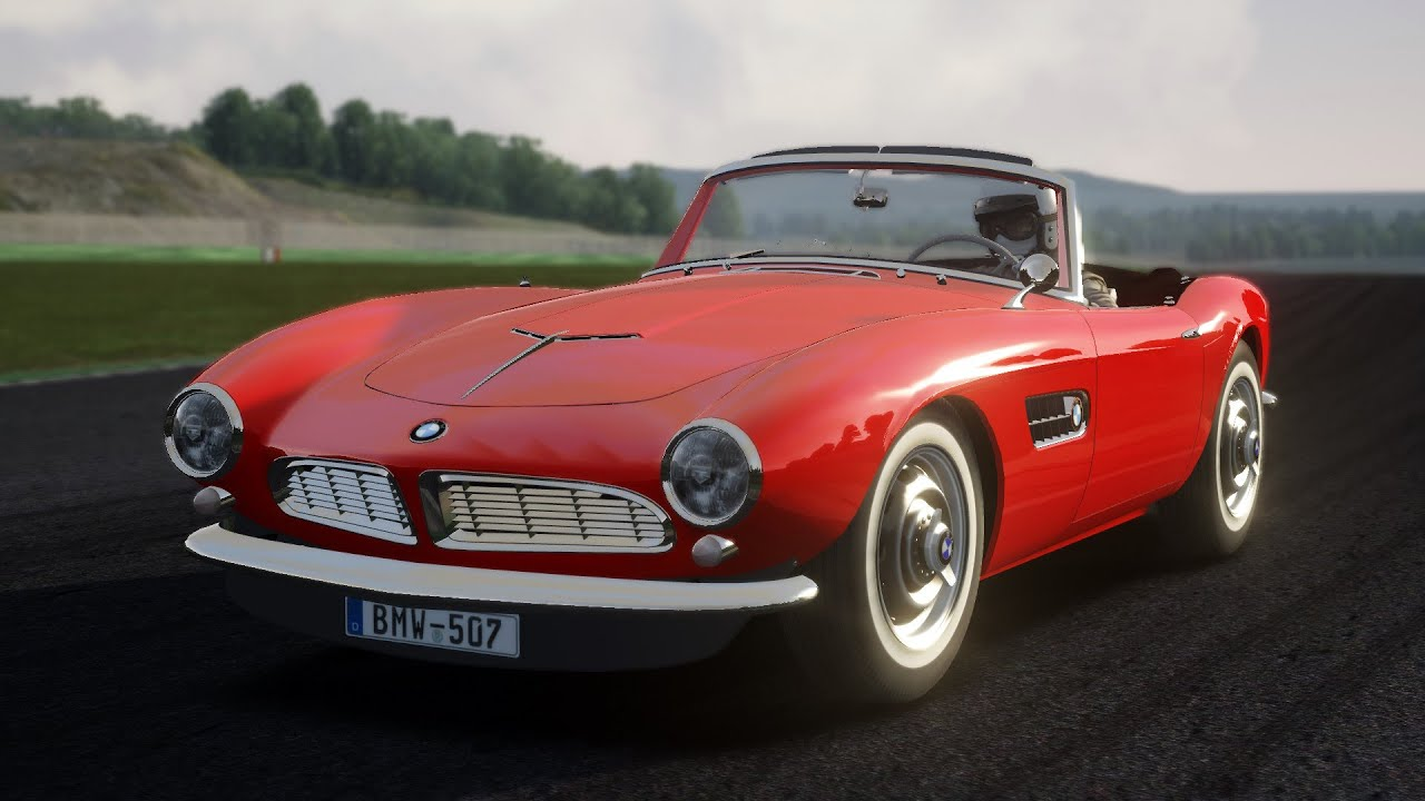assetto corsa bmw 507 series ii roadster 1959 download youtube. Black Bedroom Furniture Sets. Home Design Ideas