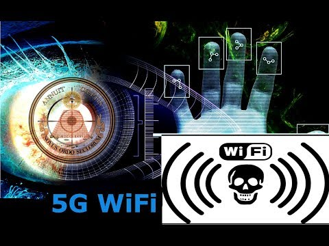 The Antichrist Beast system is here 5G WiFi of the New World Order!!! 2018